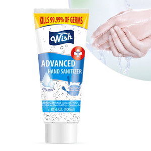 Wish Hand Sanitizer / 70% / GEL / 100ml 3.38oz Tube