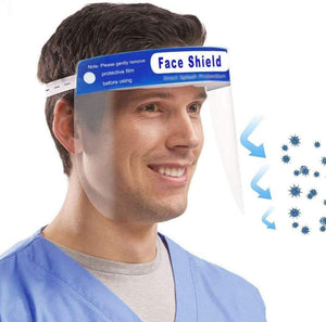 Face Shield , Comfortable Sponge + 180° Protection (10 pcs, 50 pcs.... 1000 pcs)