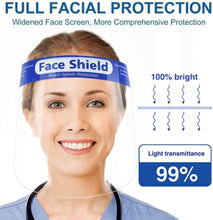 Load image into Gallery viewer, Face Shield , Comfortable Sponge + 180° Protection (10 pcs, 50 pcs.... 1000 pcs)