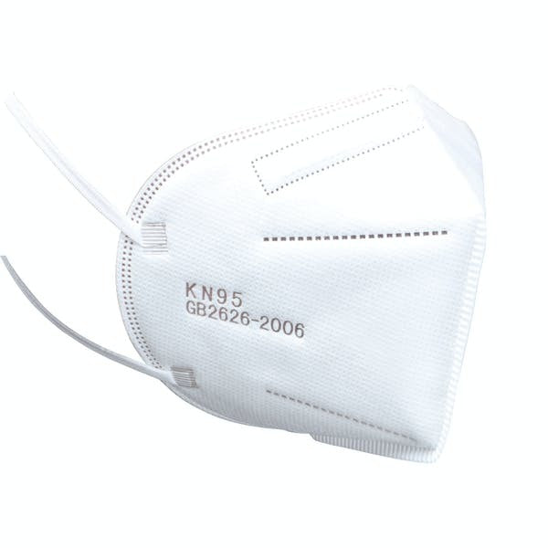 50x KN95 Particulate Respirator Face Mask Disposable Individually Wrapped