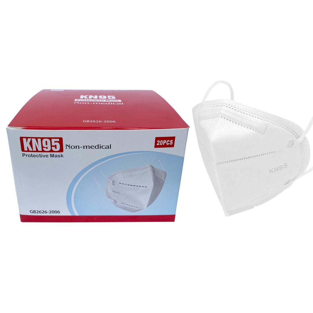 KN95 Disposable Face Mask Respiratory FDA-Certified (BUY in BULK)