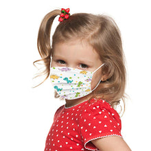 Load image into Gallery viewer, 50ct Kid's Disposable Face Masks 3-Ply Unisex - Assorted Designs