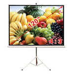 Antra™ PST-120B Tripod Compact Portable Projector Projection Screen 4:3 Matte White