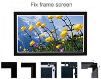 Antra™ PSF-106AG 106 Inch 16:9 Fixed Frame Projector Projection Screen New PVC Grey