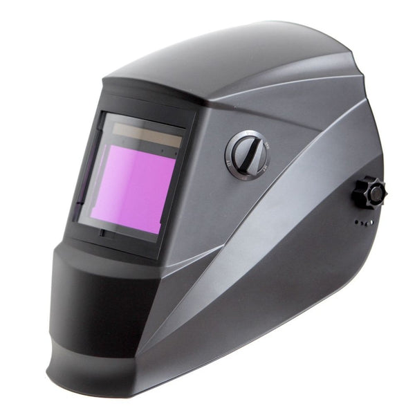 REFURBISHED Antra™ AH6-660-0000 Solar Power Auto Darkening Welding Helmet Shade 4/5-9/9-13