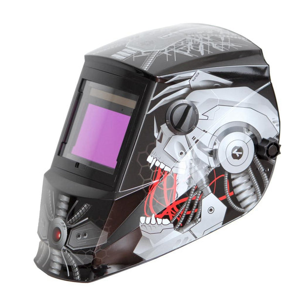 Antra™ AH6-660-6320 Solar Power Auto Darkening Welding Helmet Shade 4/5-9/9-13