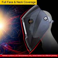 Antra™ AH7-360-7311 Solar Power Auto Darkening Welding Helmet Shade 4/5-9/9-13