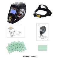 Antra™ AH7-360-7321 Solar Power Auto Darkening Welding Helmet Shade 4/5-9/9-13