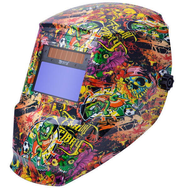 Antra™ AH6-330-6325 Solar Power Auto Darkening Welding Helmet Shade 4/5-9/9-13