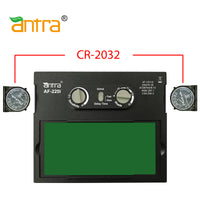 Antra™ AF220i Solar Power Auto Darkening Lens Shade 4/9-13 with Grinding, Great for TIG MIG STICK