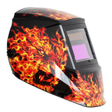 REFURBISHED Antra™ AH6-260-6104 Solar Power Auto Darkening Welding Helmet Shade 4/5-9/9-13