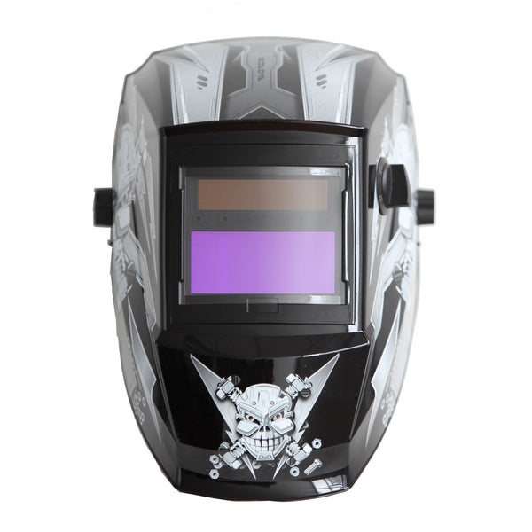 REFURBISHED Antra™ AH6-260-6213 Solar Power Auto Darkening Welding Helmet Shade 4/5-9/9-13