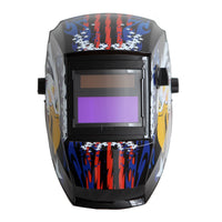 REFURBISHED Antra™ AH6-260-6217 Solar Power Auto Darkening Welding Helmet Shade 4/5-9/9-13