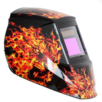 REFURBISHED Antra™ AH6-660-6104 Solar Power Auto Darkening Welding Helmet Shade 4/5-9/9-13