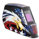 REFURBISHED Antra™ AH6-660-6217 Solar Power Auto Darkening Welding Helmet Shade 4/5-9/9-13