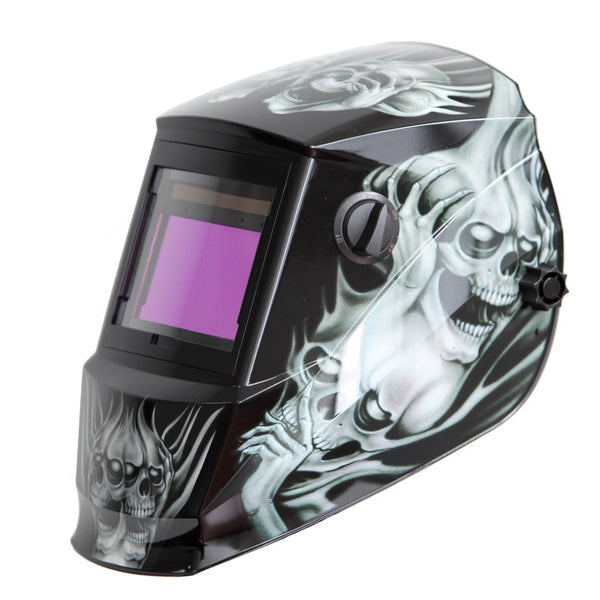 REFURBISHED Antra™ AH6-660-6218 Solar Power Auto Darkening Welding Helmet Shade 4/5-9/9-13