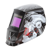 REFURBISHED Antra™ AH6-660-6320 Solar Power Auto Darkening Welding Helmet Shade 4/5-9/9-13