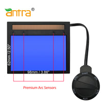 Refurbished Antra™ AntFi X60-6 Solar Power Auto Darkening Lens Shade 4/5-9/9-13