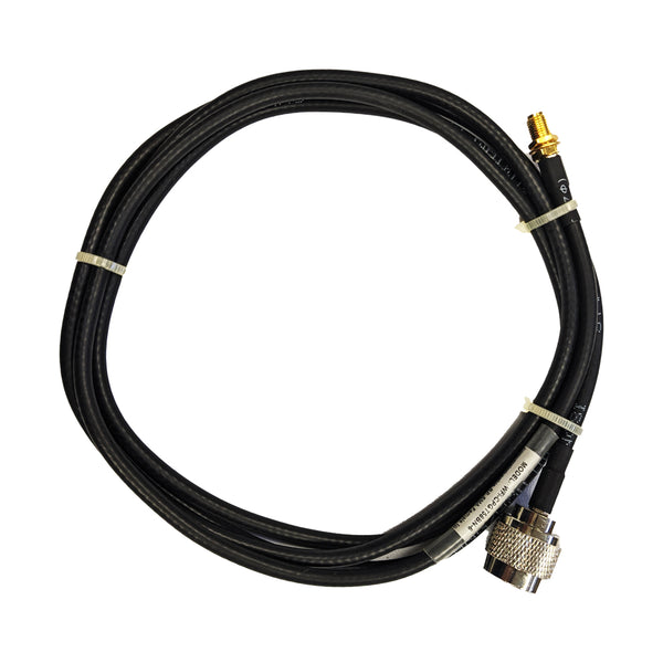 6' Low loss RG58 Pigtail cable N-Type Male to RP-SMA Female for WiFi and other communications