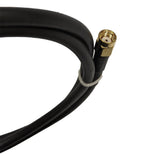3' Low loss RG58 Pigtail cable N-Type Male to RP-SMA Male for WiFi and other communications