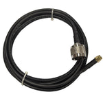 6' Low loss RG58 Pigtail cable N-Type Male to RP-SMA Male for WiFi and other communications