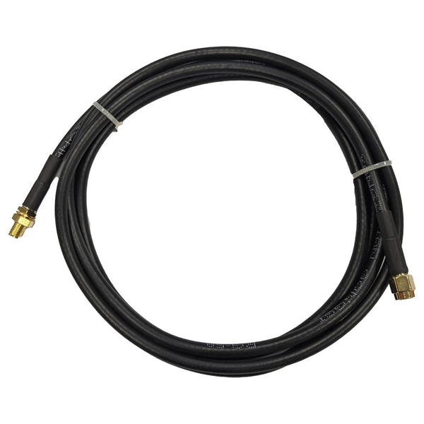 6' Low loss RG58 Extension cable RP-SMA Male RP-SMA Female for WiFi and other communications