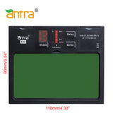 Antra™ X30 Solar Power Auto Darkening Lens Digital Controlled Shade 4/5-8/9-13 LED Display, good for TIG,MIG,MMA,Plasma Cutting