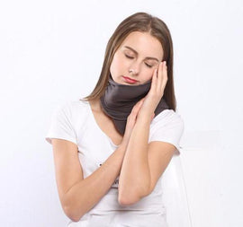 Inflatable Travel Neck Pillow - EZUSBUY