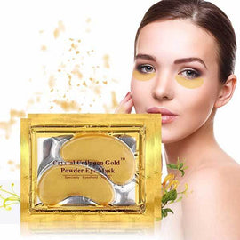 Gold Collagen Eye Mask (10 pairs/set) - EZUSBUY