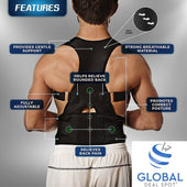 EZ PRO™  - Posture Corrector - Corrective Therapy Back Brace For Men & Women - EZUSBUY