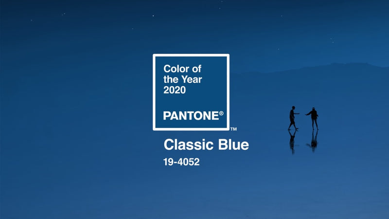 Pantone's Color of the Year for 2020: Classic Blue