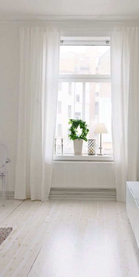 Light, Summery, Flowy Curtains