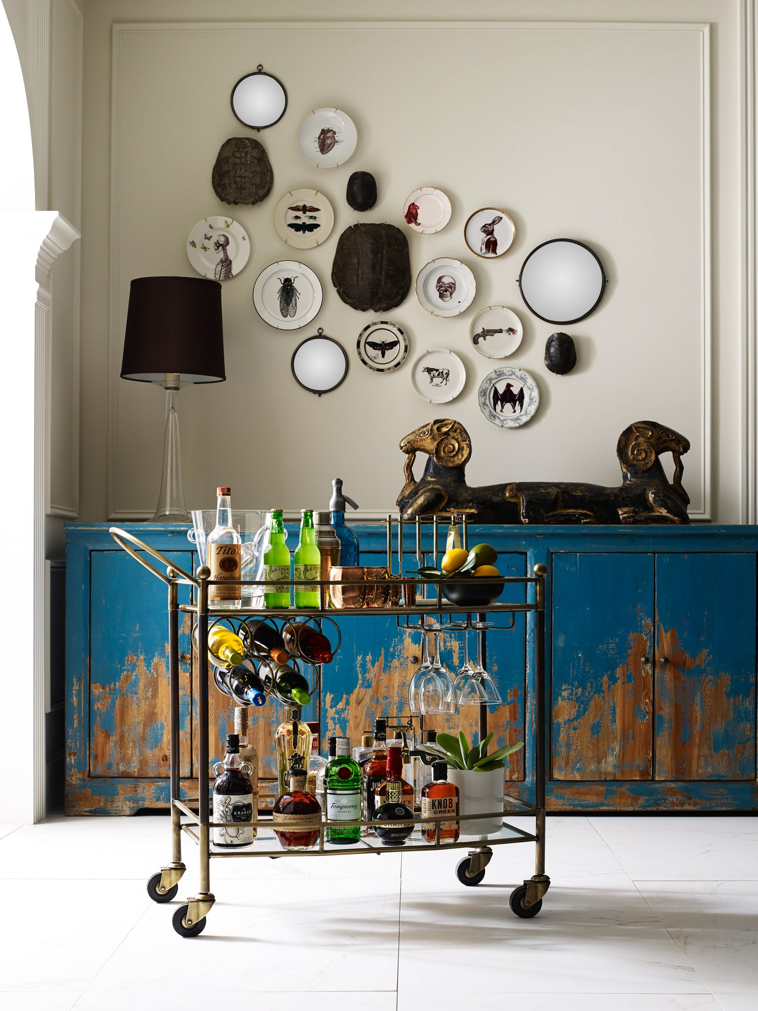 Austin Coles Bar Cart | Stash Home