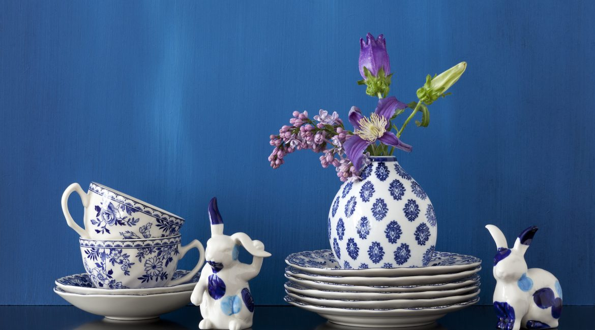 Classic Blue China Dishes
