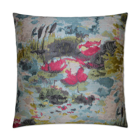 Water Garden Pillow