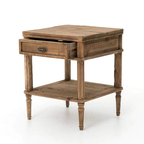 French Farmhouse Side Table | Stash Home