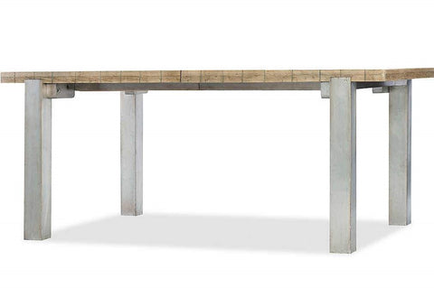 "Urban Elevation 72"" Metal Leg Table"
