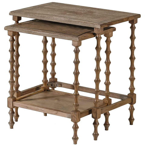 Lionel Wood Nesting Table | Stash Home