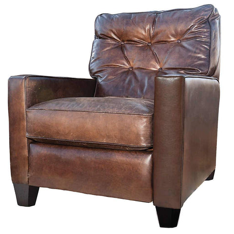 Simon Leather Recliner | Stash Home
