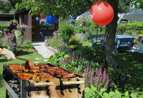 Labor Day Barbecue Party Outdoors