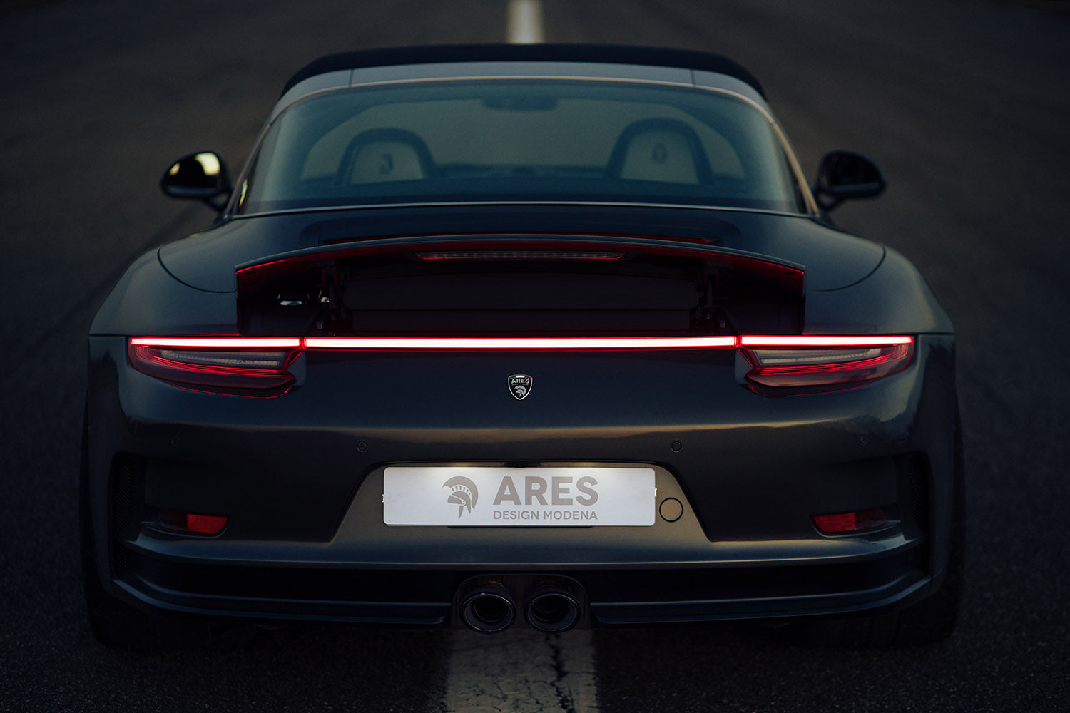ARES Design for Porsche 911 GT3 Targa