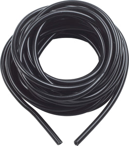 "1/4"" Silicone Tubing 25 ft, Black"