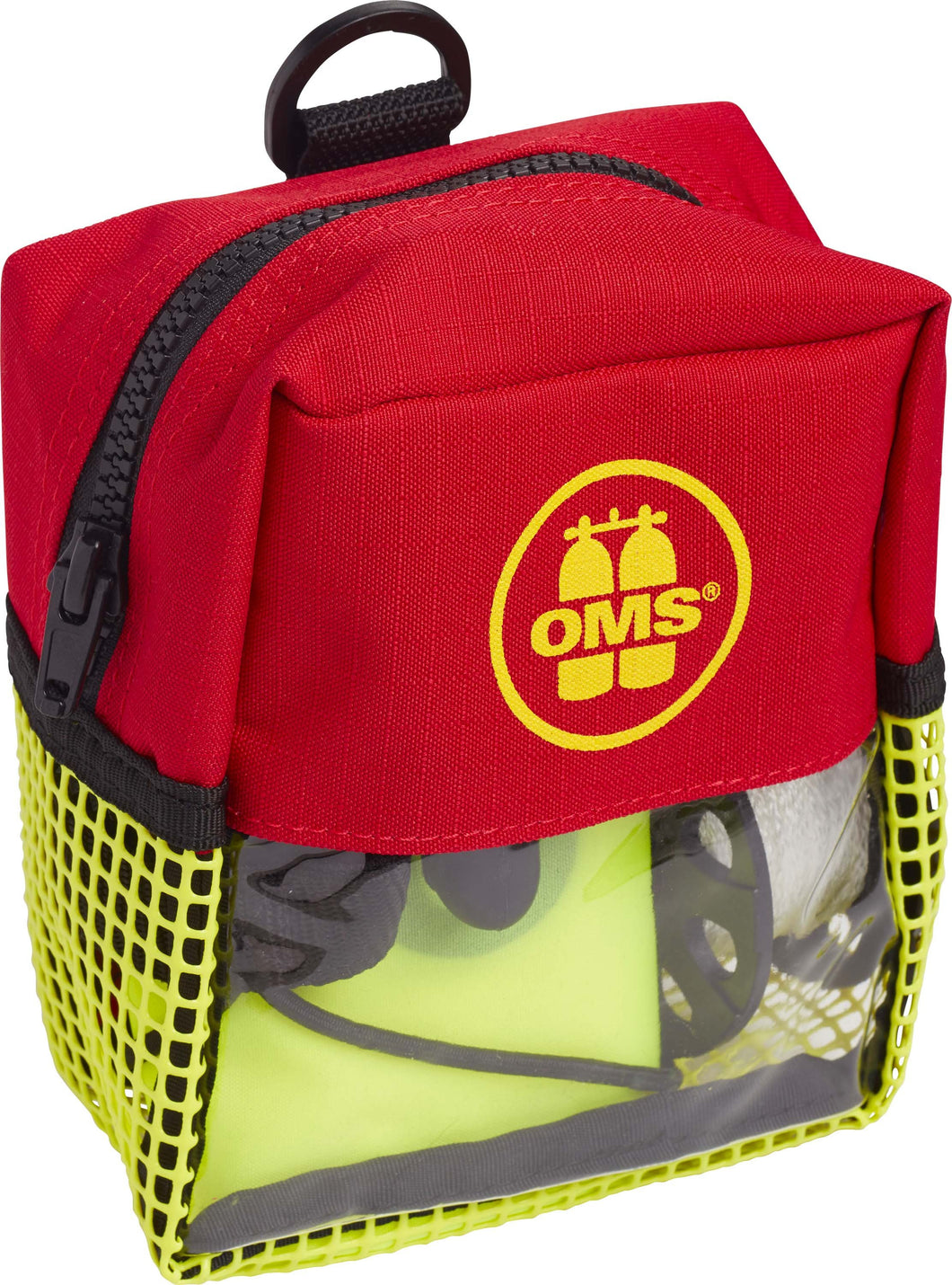 OMS Safety I (Closed 3.3' / 1 meter SMB, Spool 75' & Safety Pocket)
