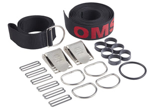 OMS Webbing for Continuous Weave Harness, including Hardware & Crotch Strap