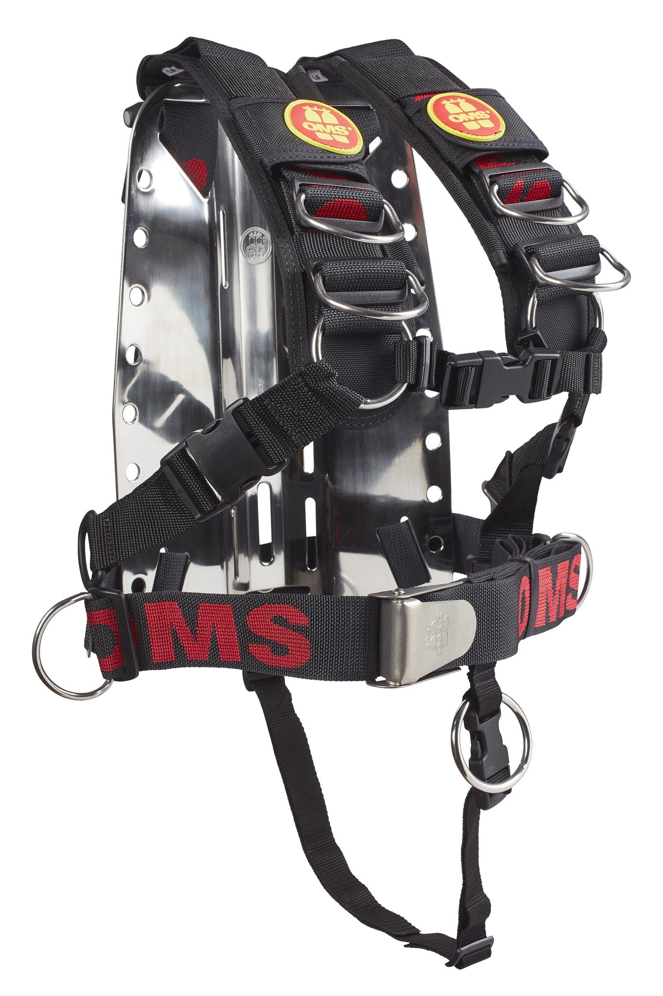 ... OMS SS Backplate with Comfort Harness OMS SS System II