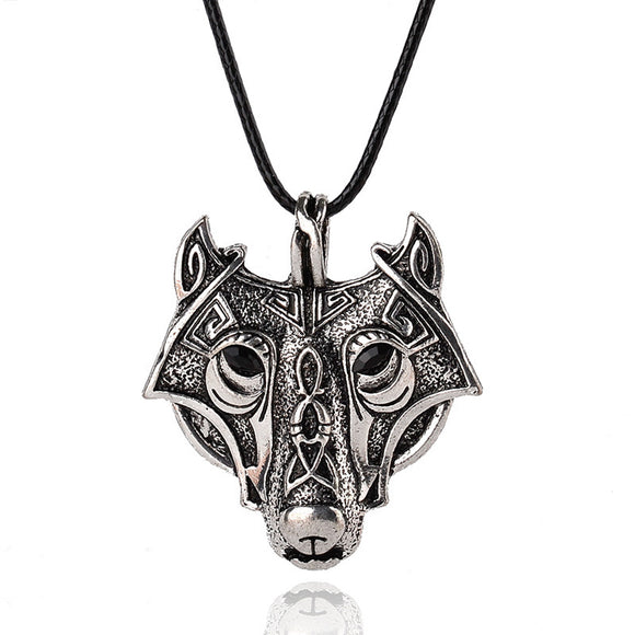 Nordic Wolf Talisman Amulet, Pendant Necklaces - Planet Moonbow