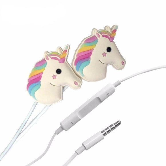Moonbow Unicorn Earphones