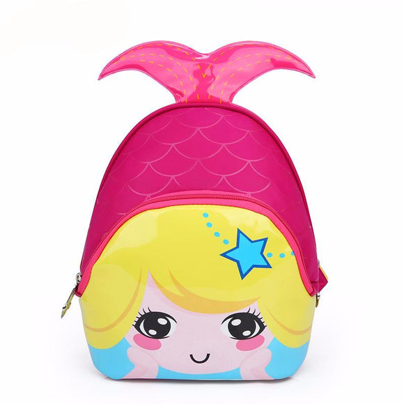 Cartoon Mermaid Backpack, School Bags - Planet Moonbow