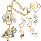 Fantasy Bird Bow & Gem Bracelet/Keychain, Costume Props - Planet Moonbow