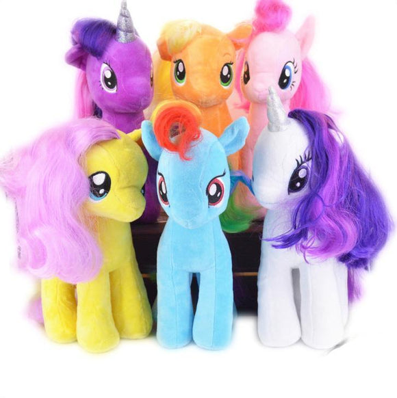 Plush Unicorns & Ponies Toys